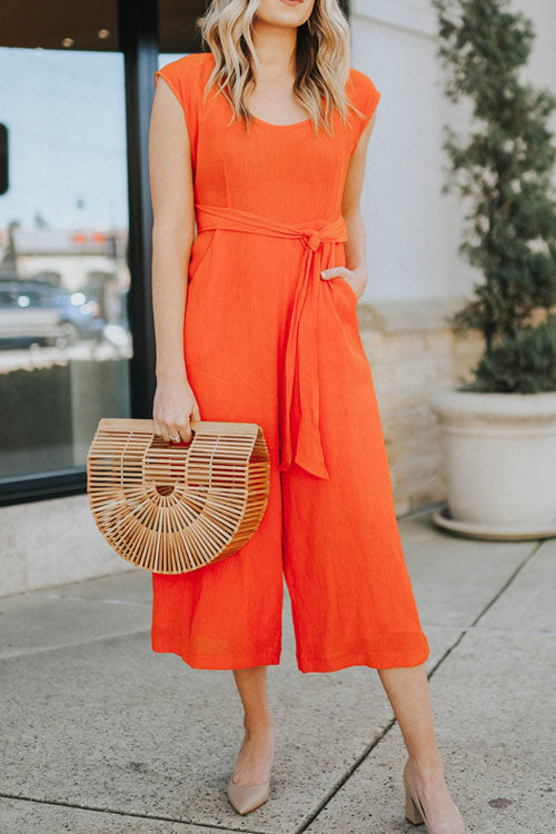 Chaseinstyles Casual Linen Jumpsuit