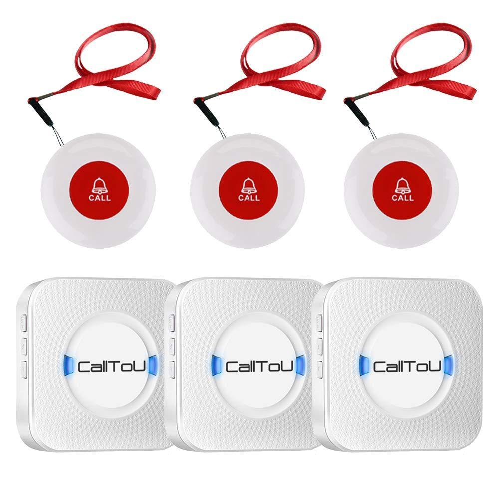 Alarm Buttons | Caregiver Call Button | Medical Pager System - CallToU