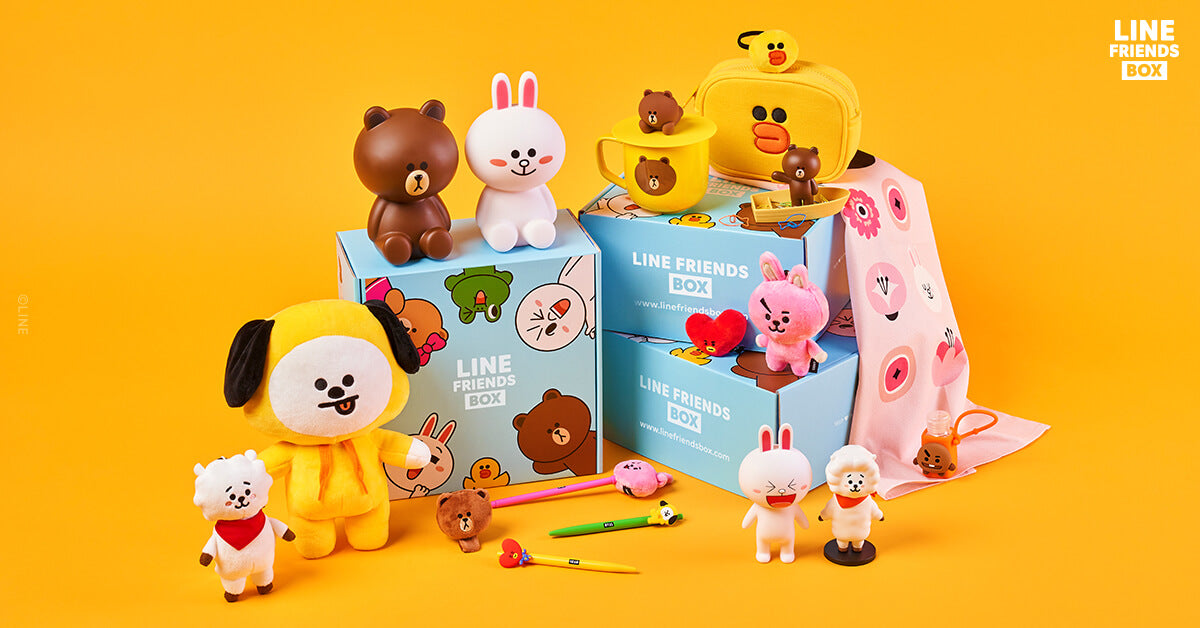 Line Friends Box Delivered Right To Your Door Every Season