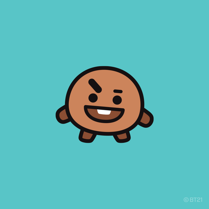 LINE FRIENDS BOX - SHOOKY Set