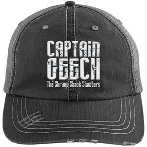 Geech Distressed Unstructured Trucker Cap