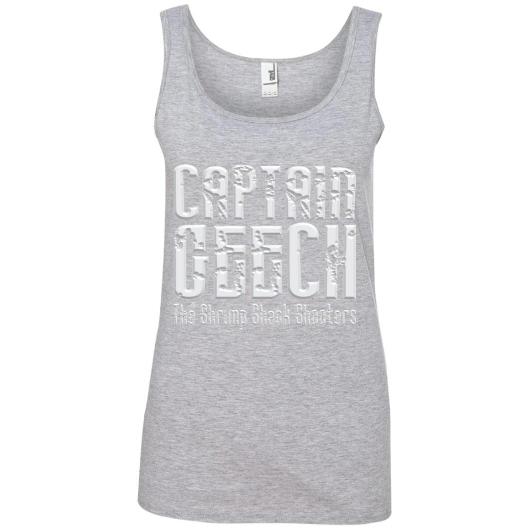 Geech Anvil Ladies' 100% Ringspun Cotton Tank Top