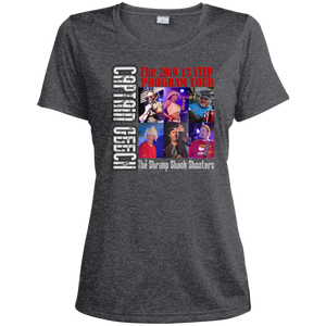 2019 Geech Tour Sport-Tek Ladies' Heather Dri-Fit Moisture-Wicking T-Shirt