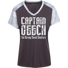 Load image into Gallery viewer, Geech Sport-Tek Ladies' CamoHex Colorblock T-Shirt