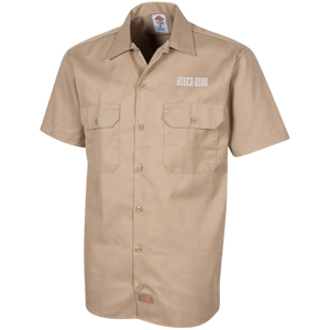 Geech Gear Dickies Men's Short Sleeve Workshirt