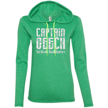 Load image into Gallery viewer, Geech Anvil Ladies' LS T-Shirt Hoodie