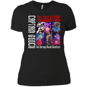 2019 Geech Tour Next Level Ladies' Boyfriend T-Shirt