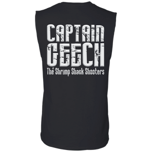 GEECH 2018 Gildan Men's Ultra Cotton Sleeveless T-Shirt
