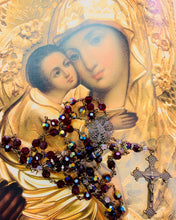 Load image into Gallery viewer, St. George Swarovski Crystal Rosary