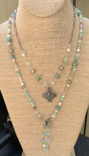 Load image into Gallery viewer, Spring Rain Dangle Necklace