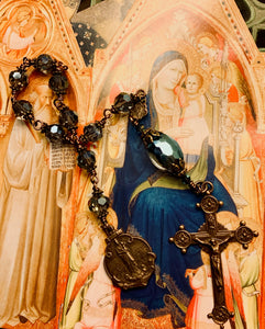 Our Lady of the Garde Notre Dame Crystal Decade Rosary