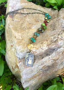 St. Francis Forest Necklace