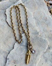 Load image into Gallery viewer, Gold Cross Necklace