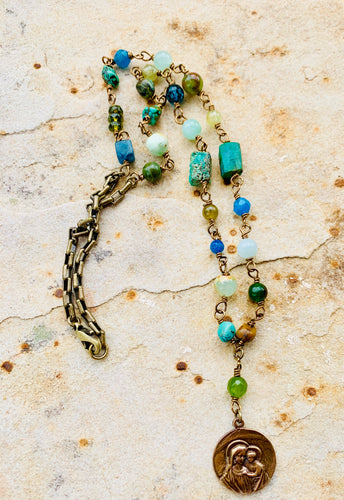 Our Lady of Fourviere Necklace