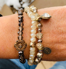 Load image into Gallery viewer, Full of Grace Collection Swarovski Stretch Bracelet