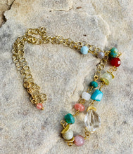 Load image into Gallery viewer, Colorful Gemstone Necklace