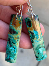 Load image into Gallery viewer, Chrysocolla Earrings