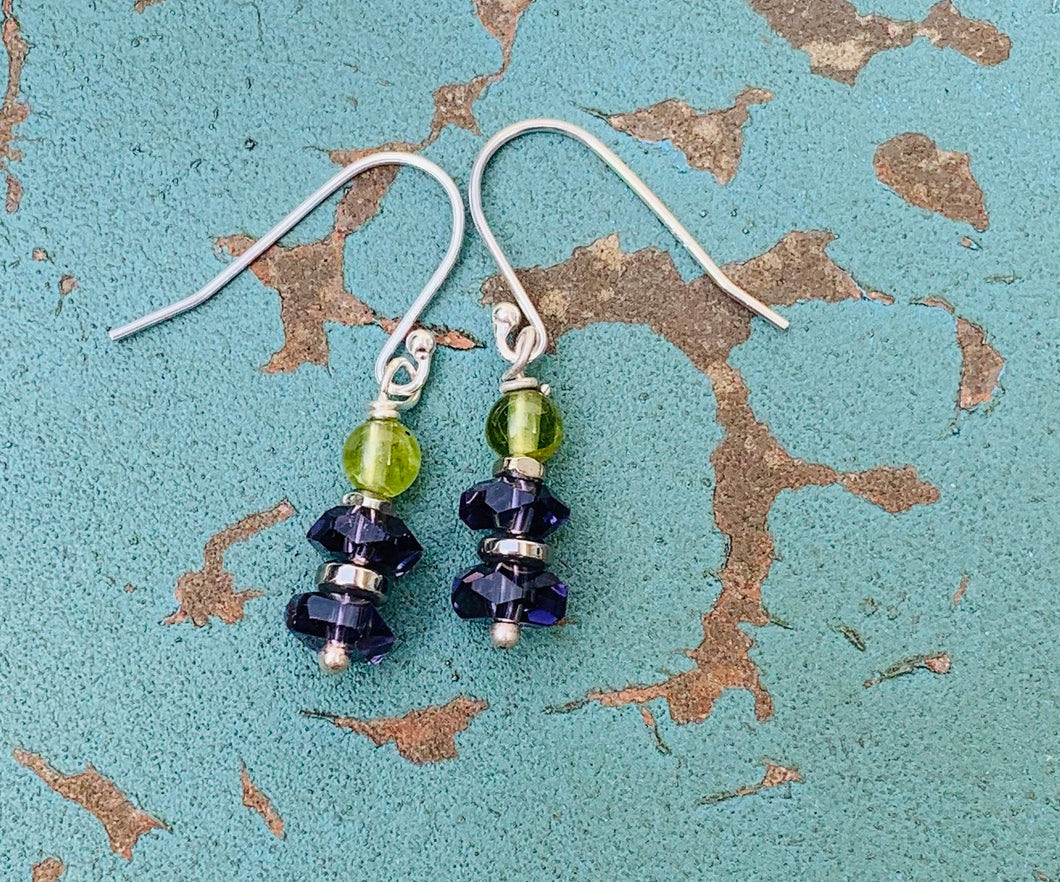Flourish Gemstone Earrings