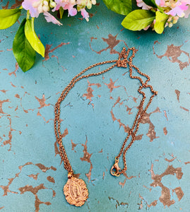Guadalupe Rose Gold Necklace
