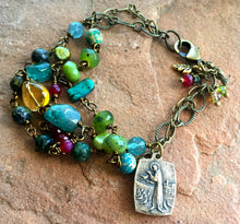 Load image into Gallery viewer, St. Francis Forest Bracelet