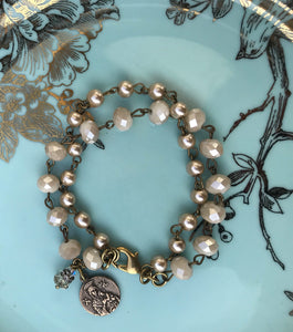 Our Lady of Perpetual Help/St. Gerard Bracelet