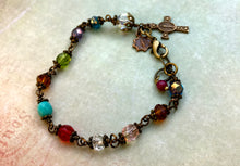 Load image into Gallery viewer, The Original Chapel Window Rosary Bracelet