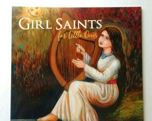 Girl Saints for Little Ones Book