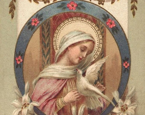 "Faithful Virgin, Pray for Us""– 8.5x11"