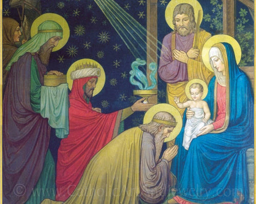 Christmas Nativity by Benedictine monks–8.5x11