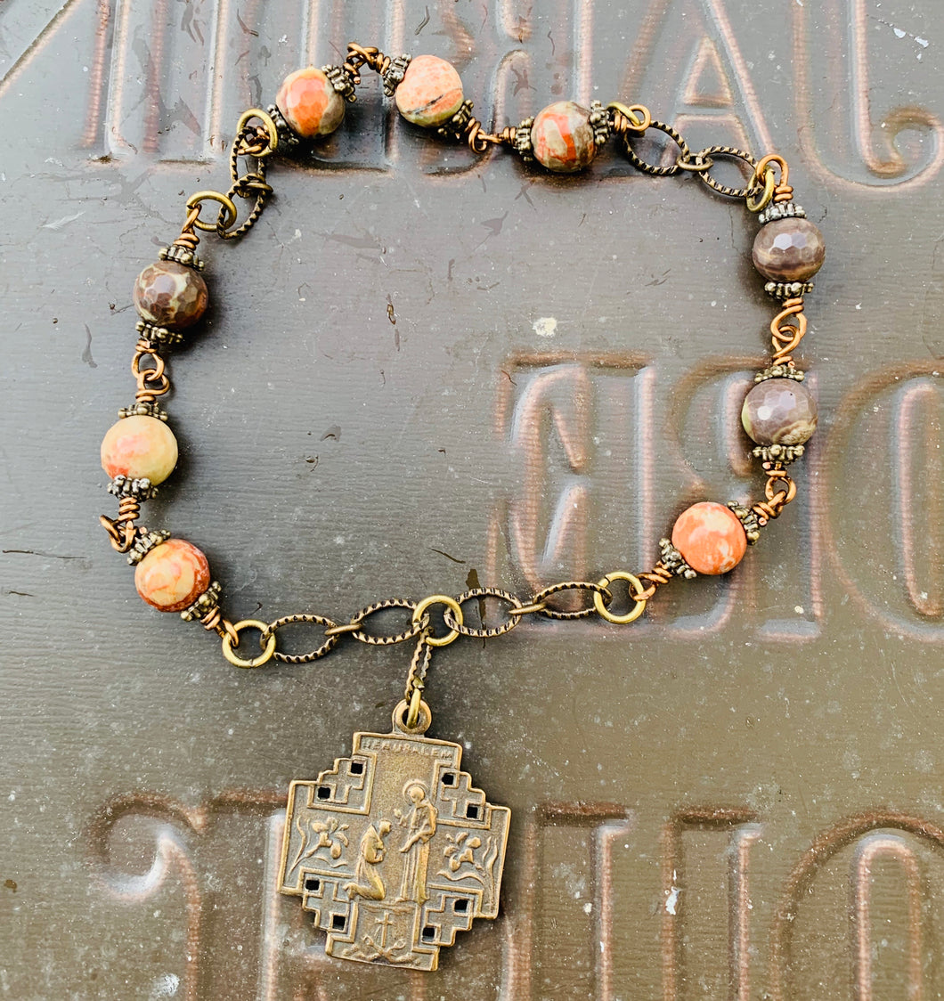 Jerusalem Cross Niner Chaplet