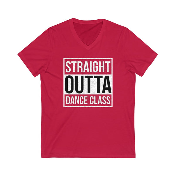 Men's 'Straight Outta Dance Class' V-Neck