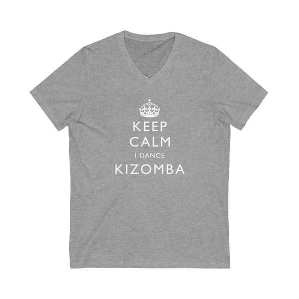 Men's 'Keep Calm Kizomba' V-Neck