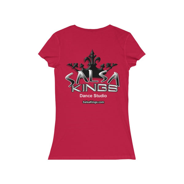 Salsa Kings Throwback Women's V-Neck