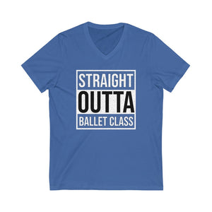 Men's 'Straight Outta Ballet Class' V-Neck