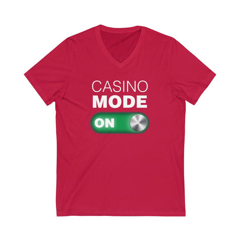 Men's 'Casino Mode ON' V-Neck