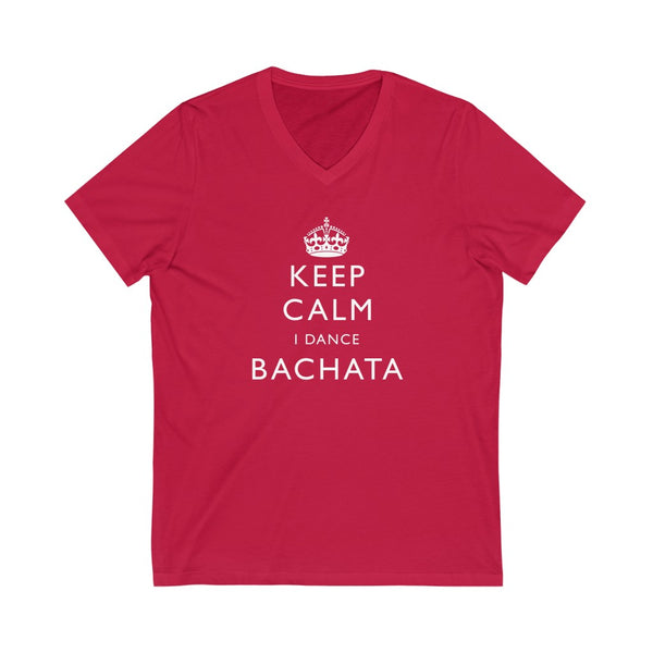 Men's 'Keep Calm Bachata' V-Neck