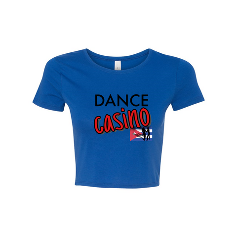 Woman's Dance Casino Crop Top