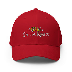 Salsa Kings Structured Closed Back Twill Cap Hat