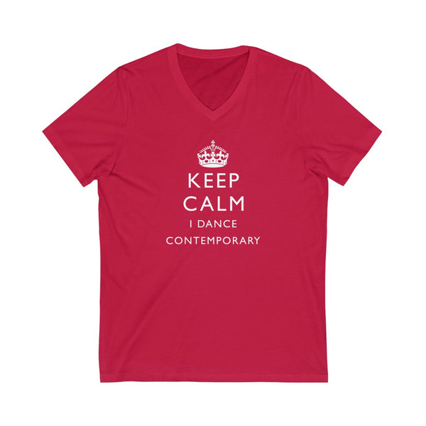 Men's 'Keep Calm Contemporary' V-Neck