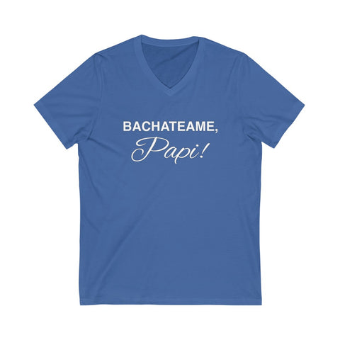 Men's 'Bachateame Papi' V-Neck