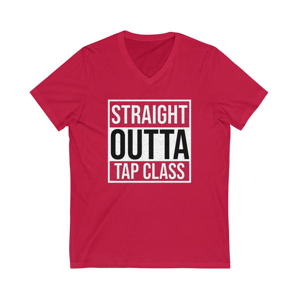 Men's 'Straight Outta Tap Class' V-Neck