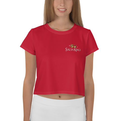 Salsa Kings Crop Tee
