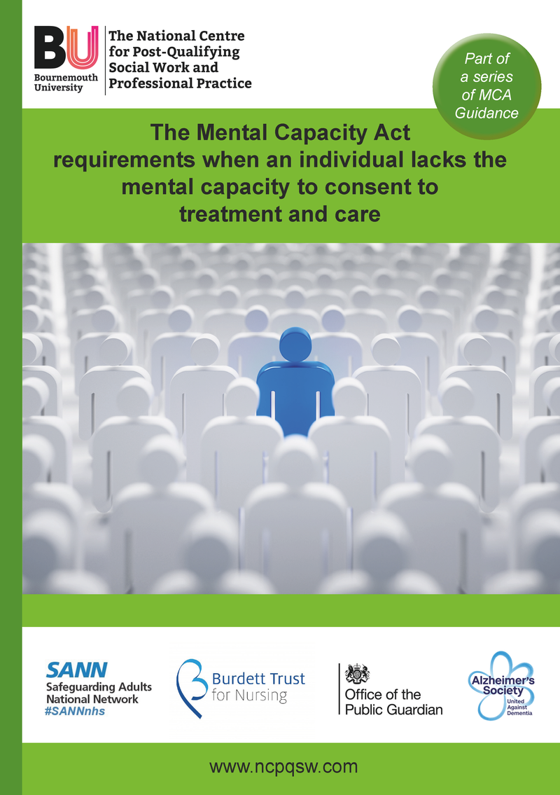 (DIGITAL DOWNLOAD) Guidance : Mental Capacity for Clinical Decisions