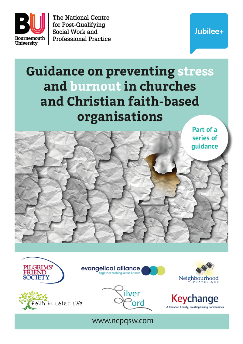(DIGITAL DOWNLOAD) Guidance : Preventing stress and Burnout in Church and Christian faith-based organisations