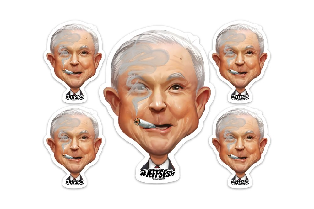 #JeffSesh Jeffhead Sticker Pack