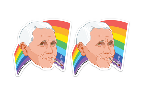 Pencehead Pride Sticker Pack