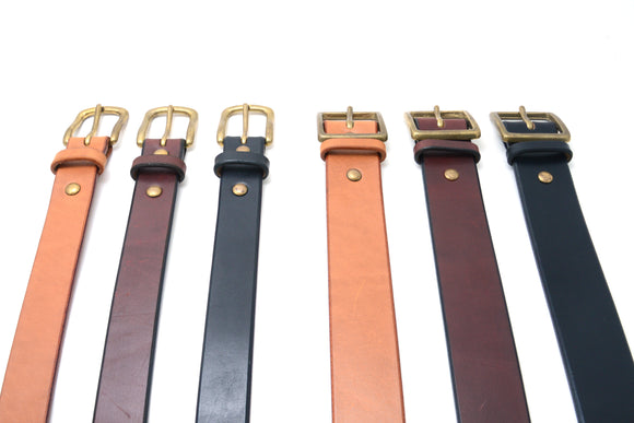 LEATHER BELT <40mm>