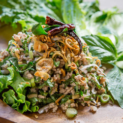 STIR-FRIED HOLY BASIL 'PAD GRA PRAO'