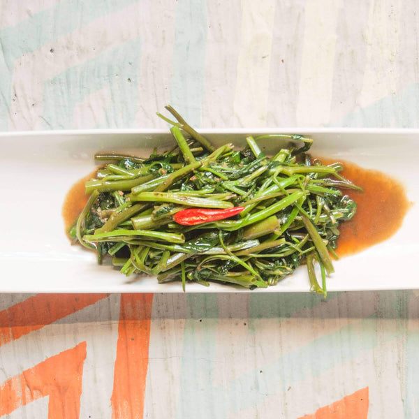 RED FLAME STIR-FRIED MORNING GLORY