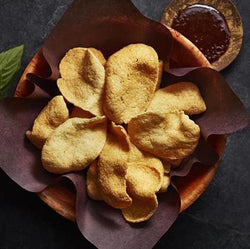 SHRIMP CHIPS AND TAMARIND DIP